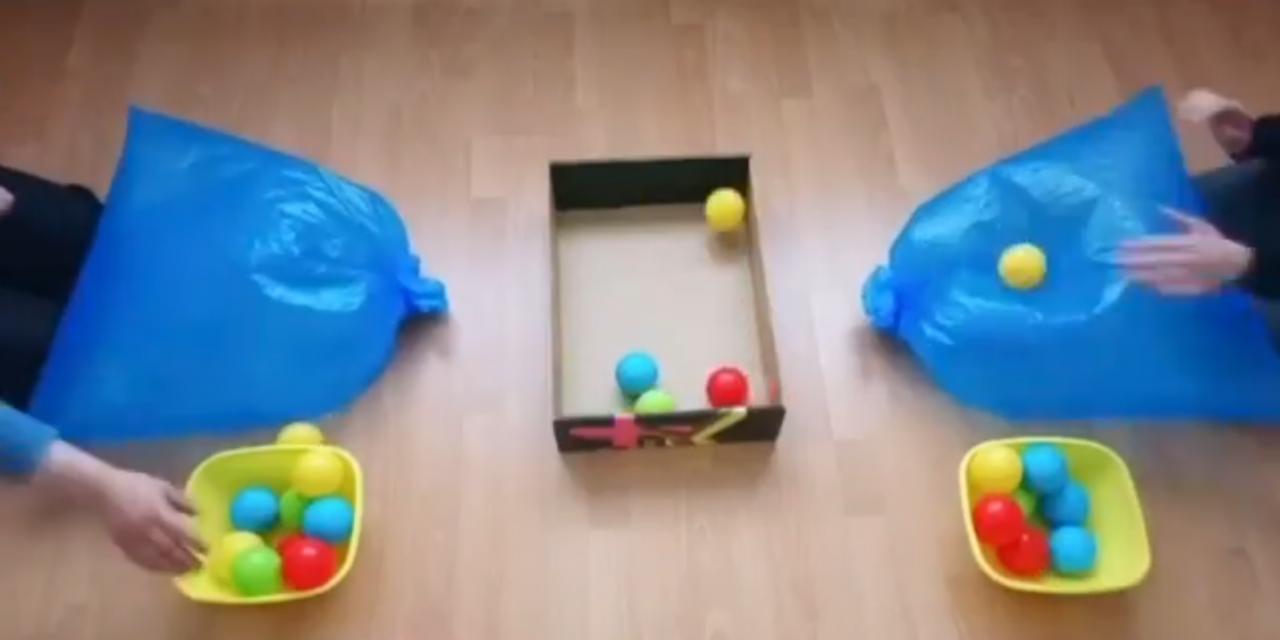 Poubelle ball